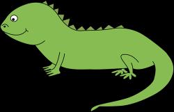 Cute clipart iguana