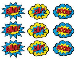 Pop Art clipart hero