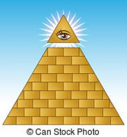 Illuminati clipart pyramid