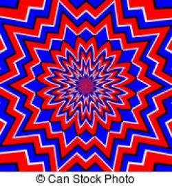 Optical Illusion clipart geometric shape