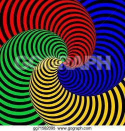 Illusion clipart swirl