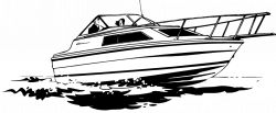 Sailboat clipart speed boat