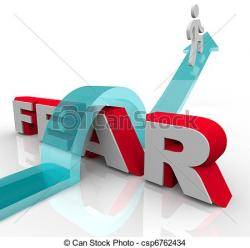 Fear clipart fearful
