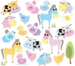 Illustration clipart cute animal