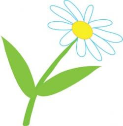 Illustration clipart daisy
