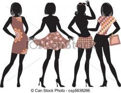Illistration clipart fashion