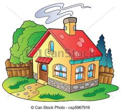 Cottage clipart small house