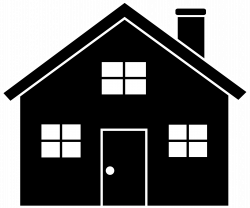 Bungalow clipart house background