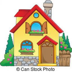 Villa clipart maison