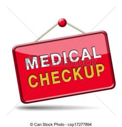 Medical clipart medical check up