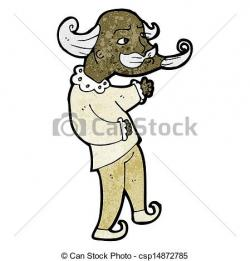 Illustration clipart playwright