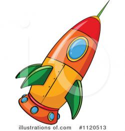 Illustration clipart rocket