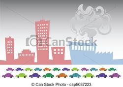 Illustration clipart smog