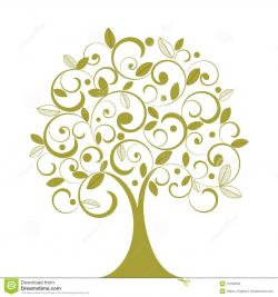 Illustration clipart whimsical tree
