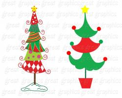 Christmas Ornaments clipart whimsical