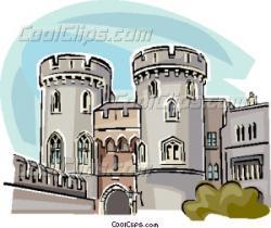 Illustration clipart windsor castle