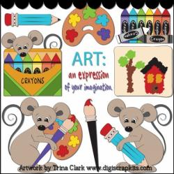 Imagination clipart arts and craft