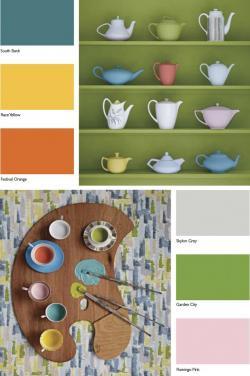 Imagination clipart color palette