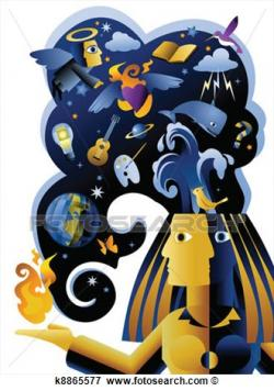 Imagination clipart imaginative