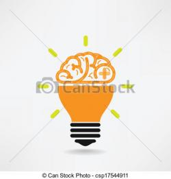 Imagination clipart knowledge brain
