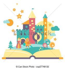 Imagination clipart open book