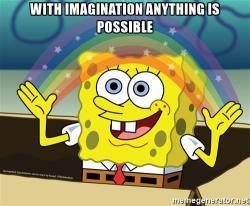 Imagination clipart rainbow
