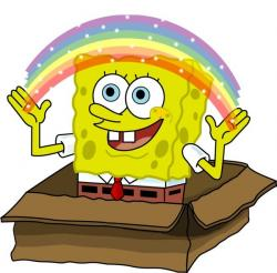 Imagination clipart spongebob