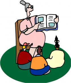 Imagination clipart story telling