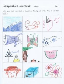 Imagination clipart test