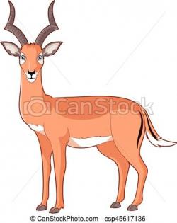 Impala clipart cartoon
