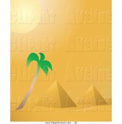 In The Desert clipart ancient egypt pyramid