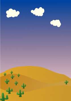 In The Desert clipart desert background