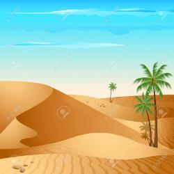 In The Desert clipart desert sand