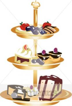 Baking clipart dessert tray