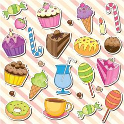 Dessert clipart cute dessert