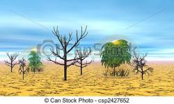 In The Desert clipart dry desert