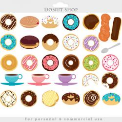 Sweets clipart donut