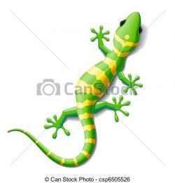 Cute clipart gecko