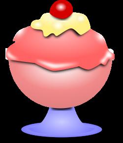 Cream clipart cold object