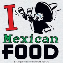 In The Desert clipart mexico food