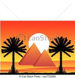 Sahara clipart ancient egypt pyramid