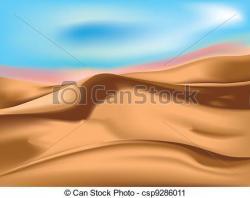 Desert clipart sand dune