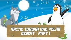 In The Desert clipart tundra biome