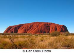 Outback clipart uluru