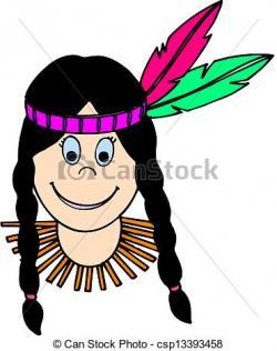 Braid clipart indian