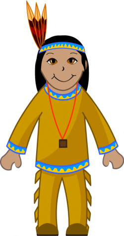 Indians clipart indian boy