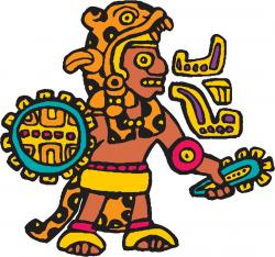 Mayan clipart aztec warrior