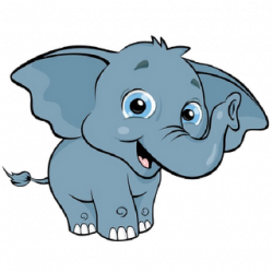 Small clipart elephant baby
