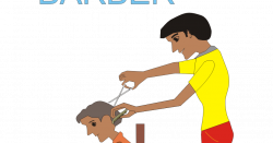 India clipart barber