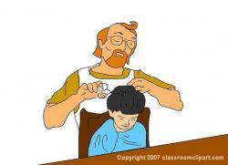 Barbet clipart barbering
